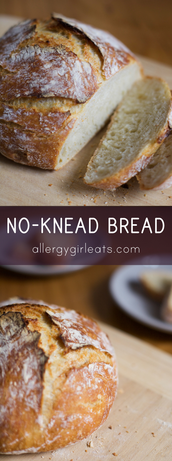 Easy no-knead bread. All you need is a dutch oven. Steps: make dough ...