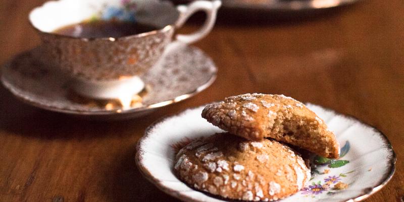 Dairy Free Ginger Cookies