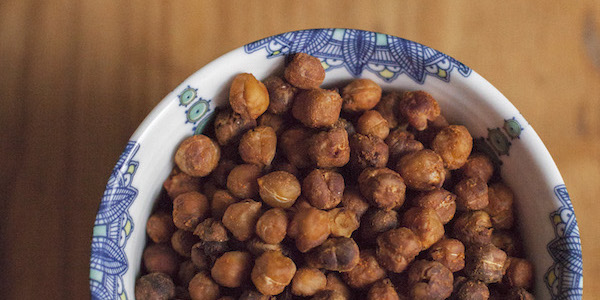 Easy Crunchy Chickpeas