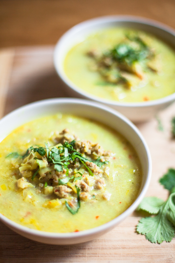 Creamy curry soup