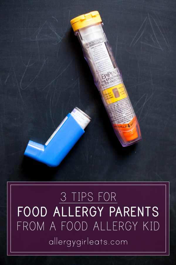 Tips for food allergy parents from a food allergy kid