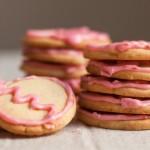Dairy-free Sugar Cookies and Dairy-free Icing use coconut based ingredients instead.