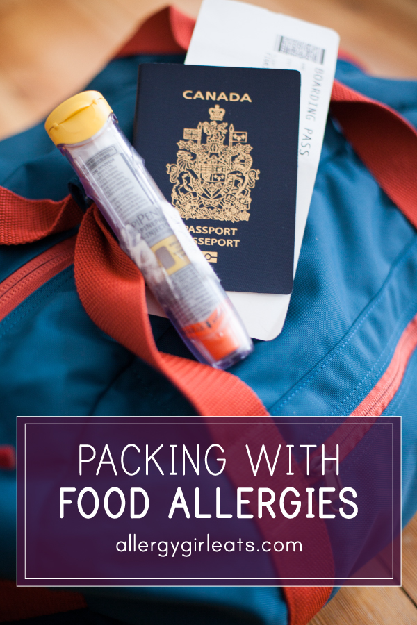 How to pack for a trip when you have food allergies