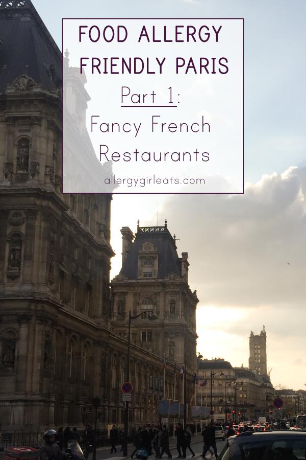 Allergy Friendly restaurants in paris