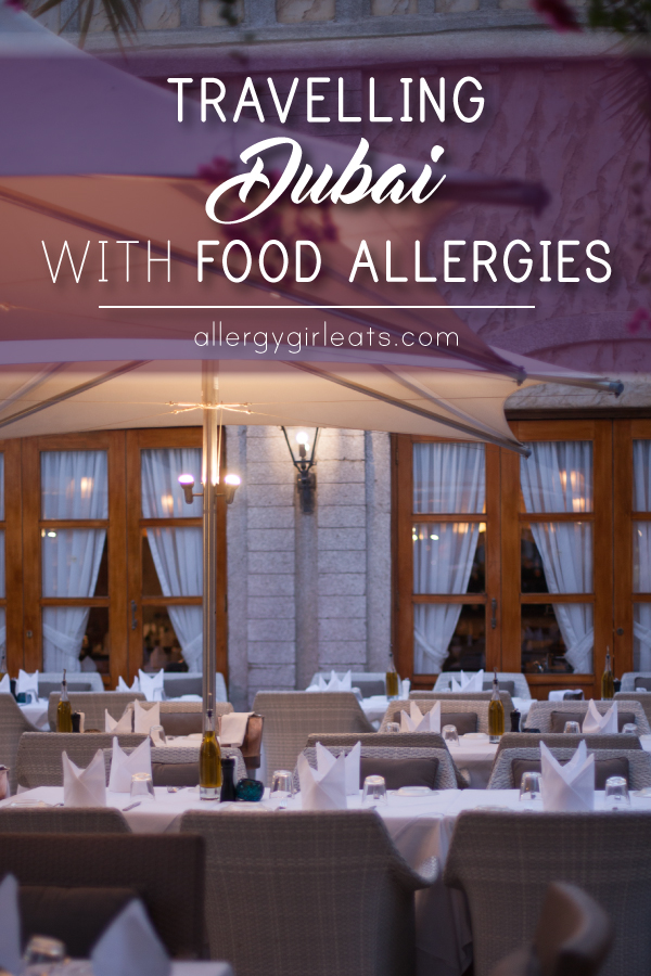 Travelling Dubai with food allergies