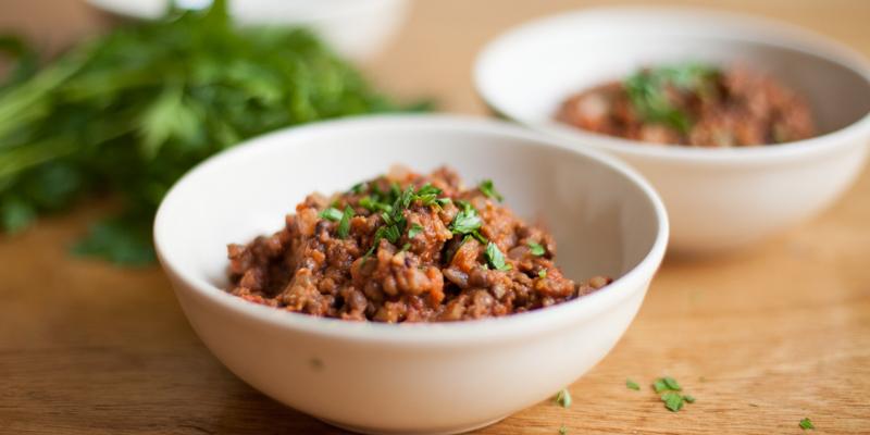 Warm Lentil Salad Recipe — Dishmaps