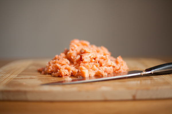 Salmon patties are great alone or on a bun quickly transforming into a delicious salmon burger!