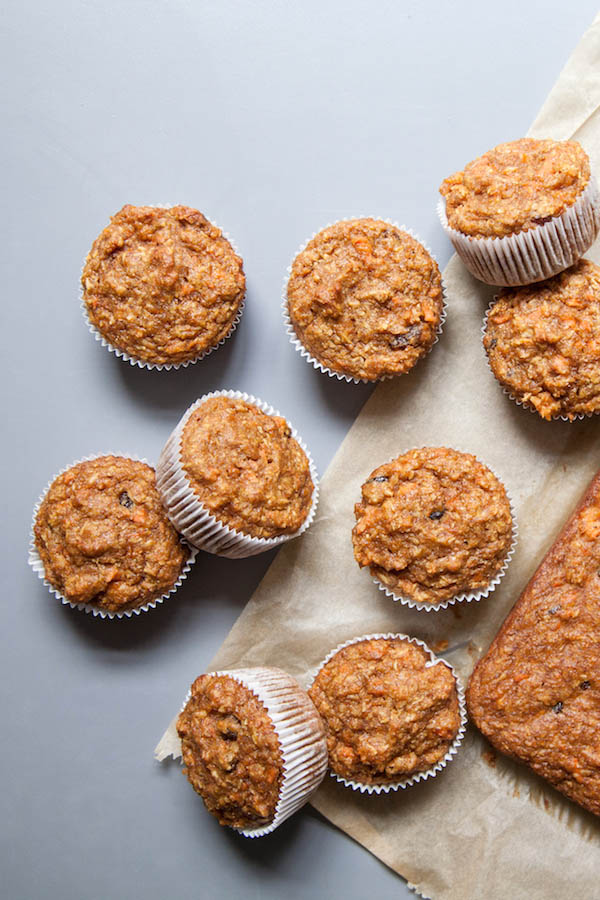 Nut Free Carrot Cake - muffins