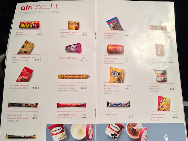 Flying Airberlin with a peanut allergy