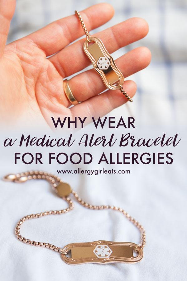 Why wear a medical alert bracelet for food allergies