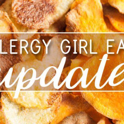 Allergy Girl Eats: August Update