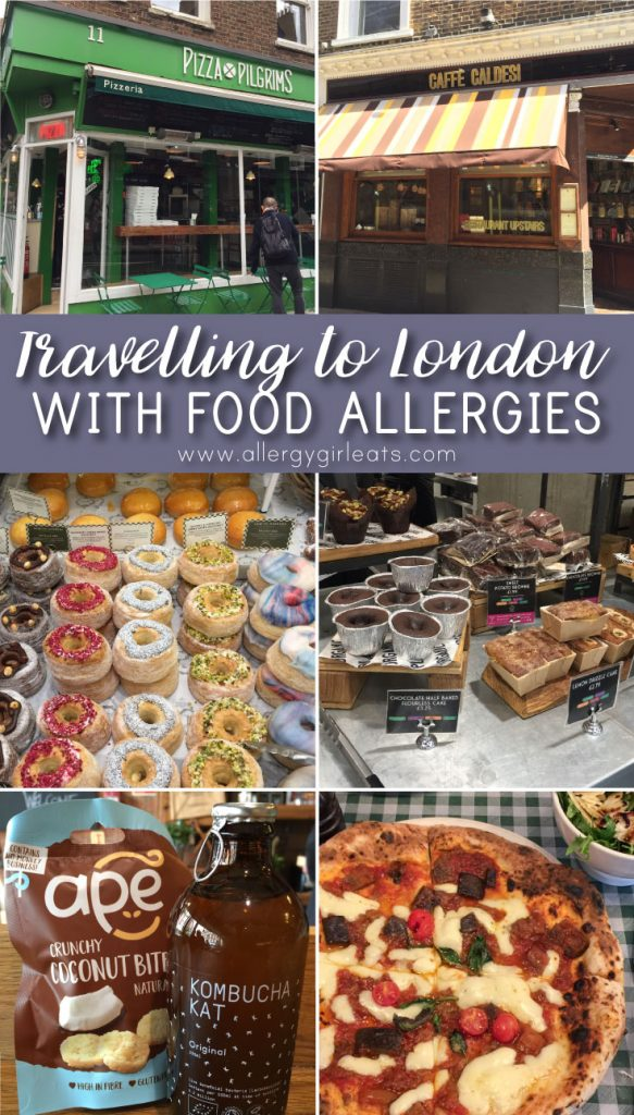 traveling to london with food allergies - where to eat and shop in London when you have food allergies