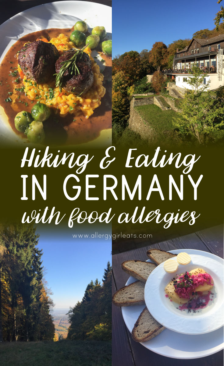 Hiking & Eating in Germany with Food Allergies