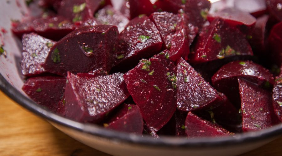 Cumin and Lemon Beet Salad
