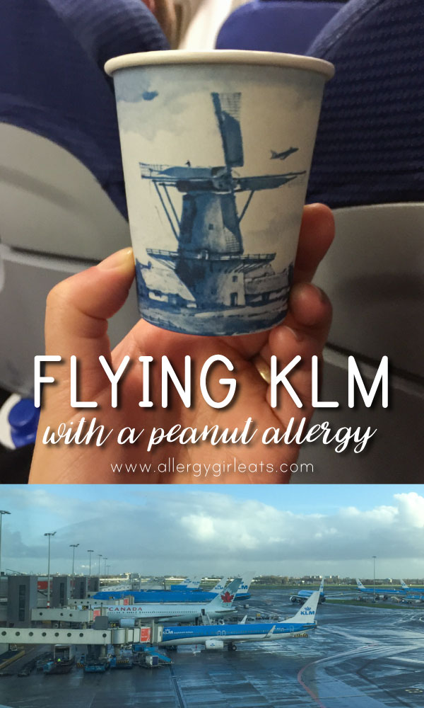 Flying KLM with a peanut allergy - how allergy friendly is KLM?