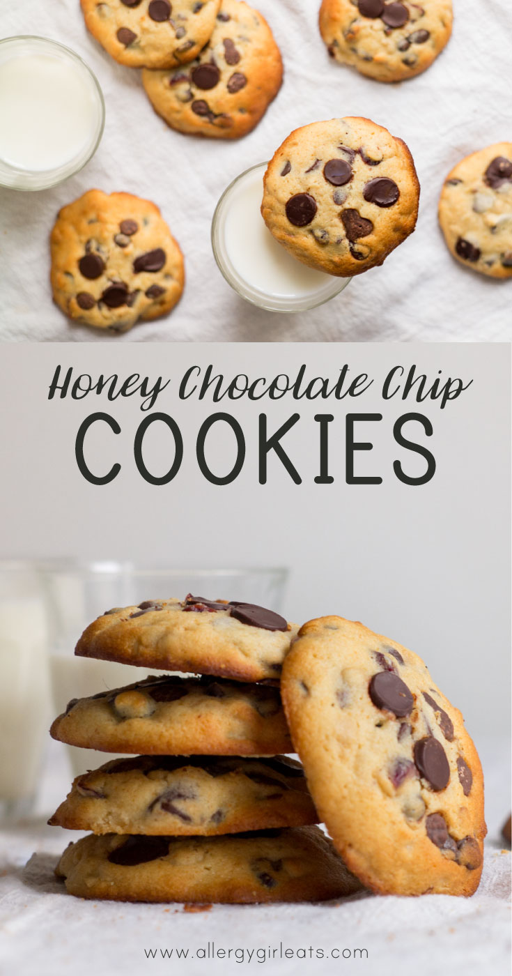 Honey Chocolate Chip Cookies | Allergy Girl Eats