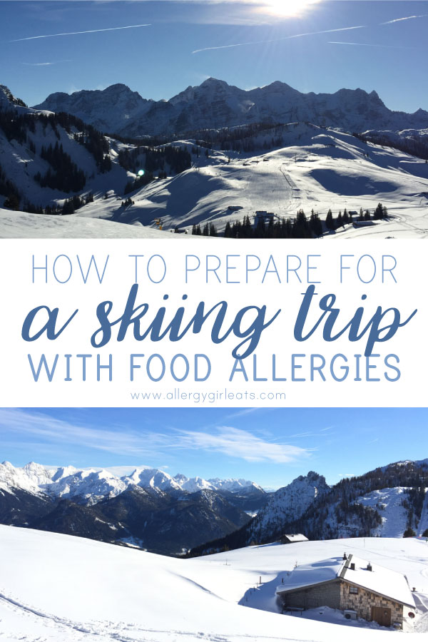How to prepare for a skiing trip with food allergies and anaphylaxis