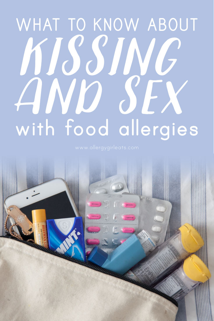 Kissing and sex with food allergies - what to know about intimacy and food allergies