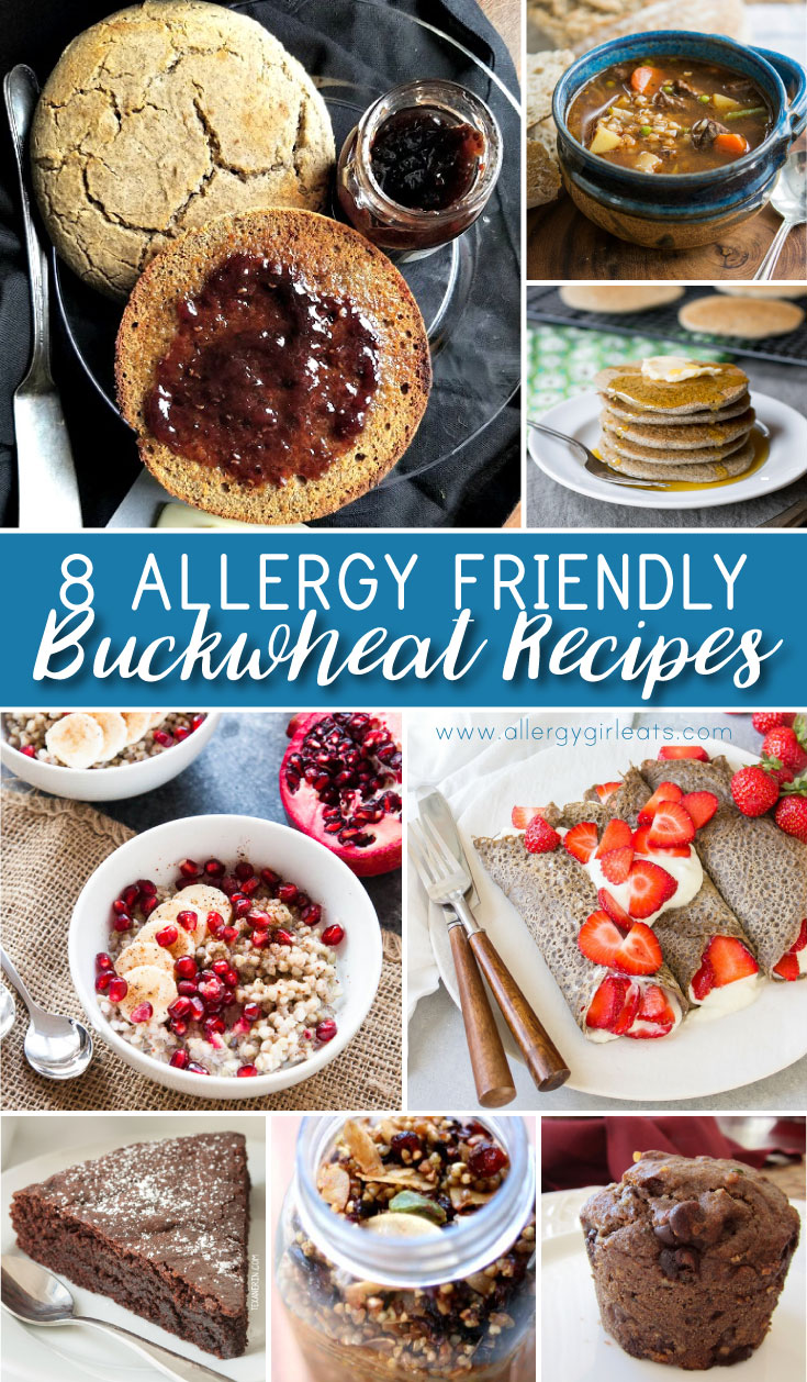 Allergy Friendly Buckwheat Recipes - gluten free and nut free recipes