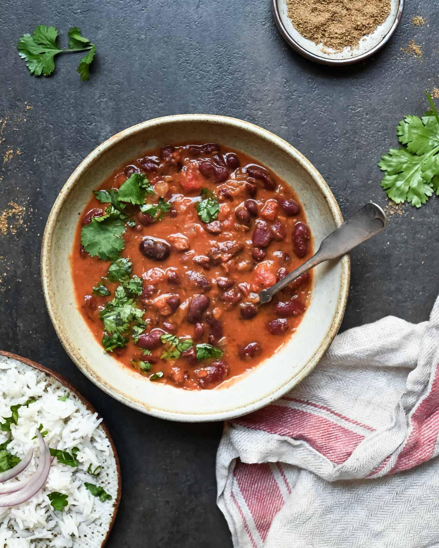 Rajma Red Kidney Beans In Spiced Gravy Gluten Free